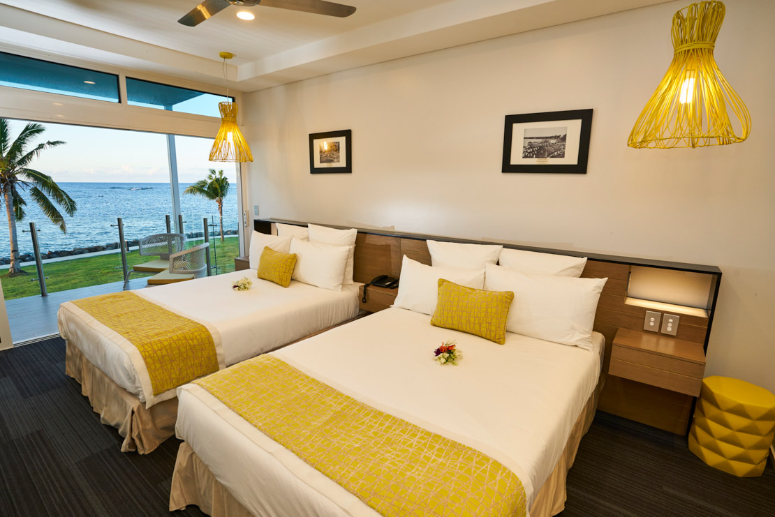 Samoa Hotel Oceanview Hotel Room Taumeasina Resort