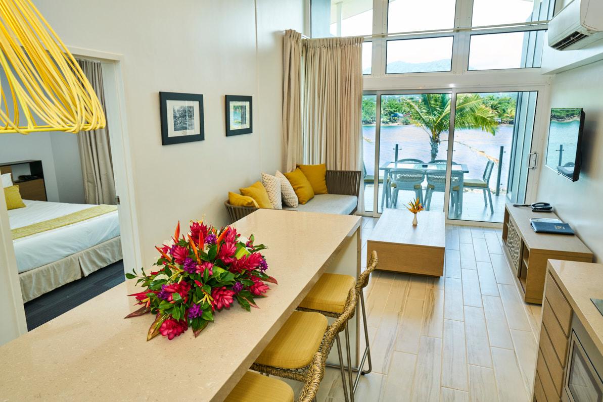 hotel in samoa waterfront 3 bedroom villas taumeasina