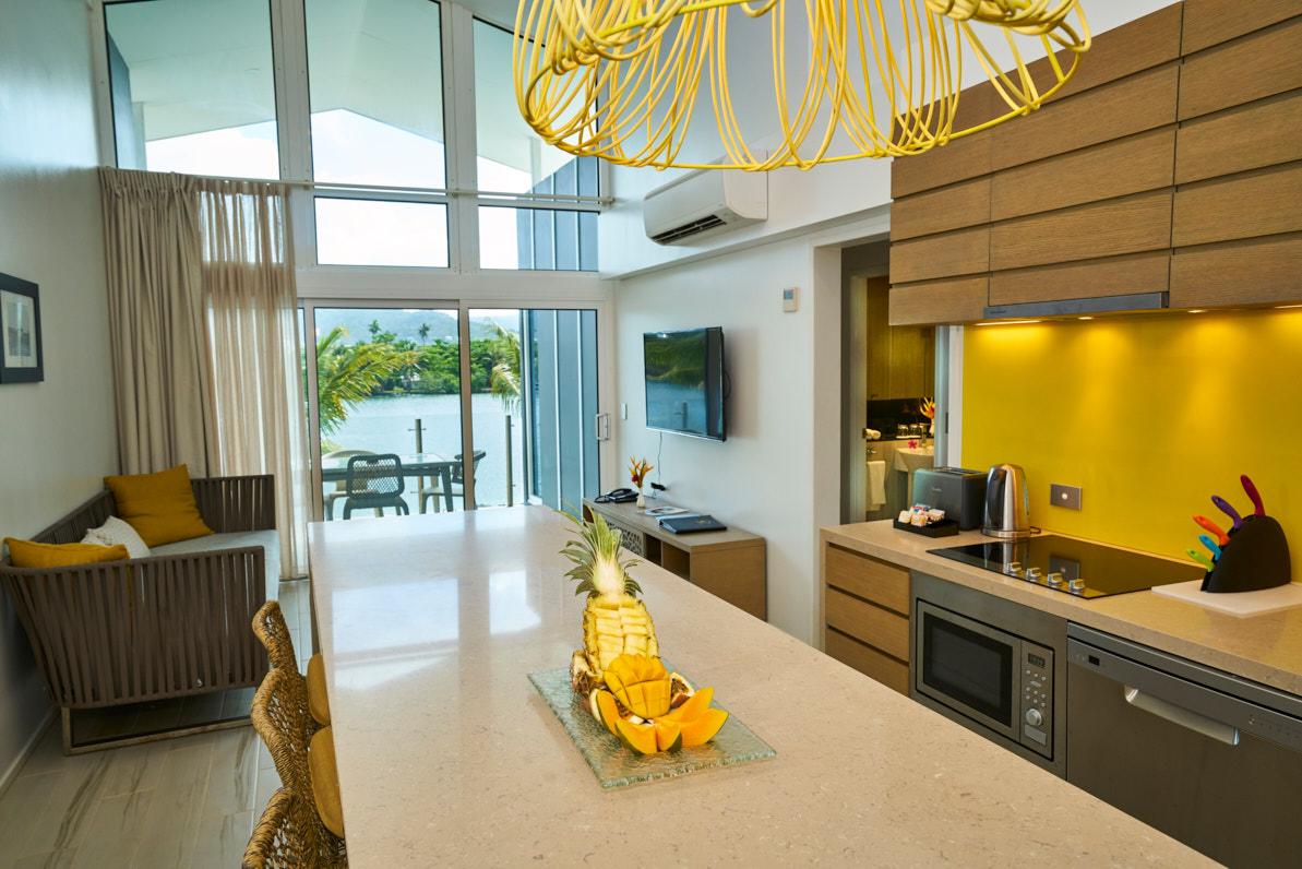 hotel in samoa waterfront 2 bedroom villas taumeasina